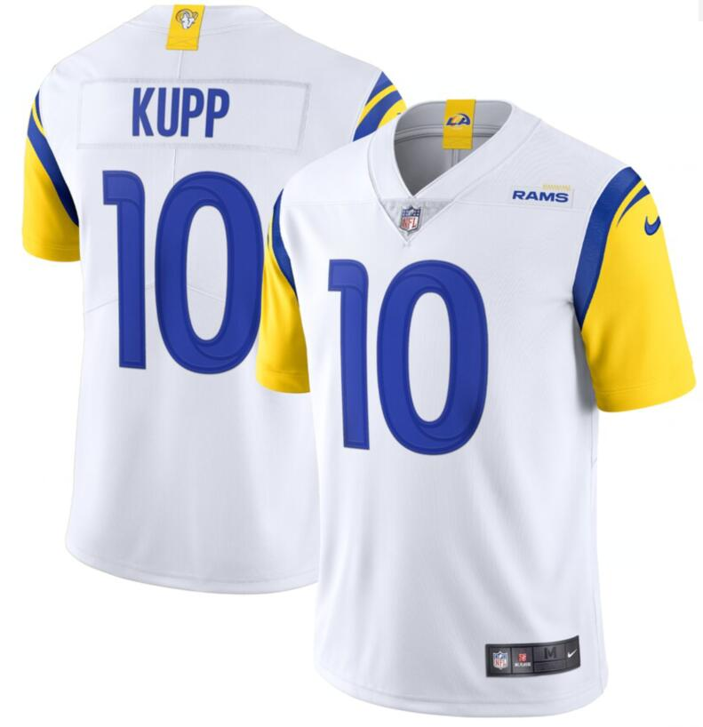 Men's Los Angeles Rams #10 Cooper Kupp 2021 New White Nike Vapor Untouchable Limited Stitched NFL Jersey